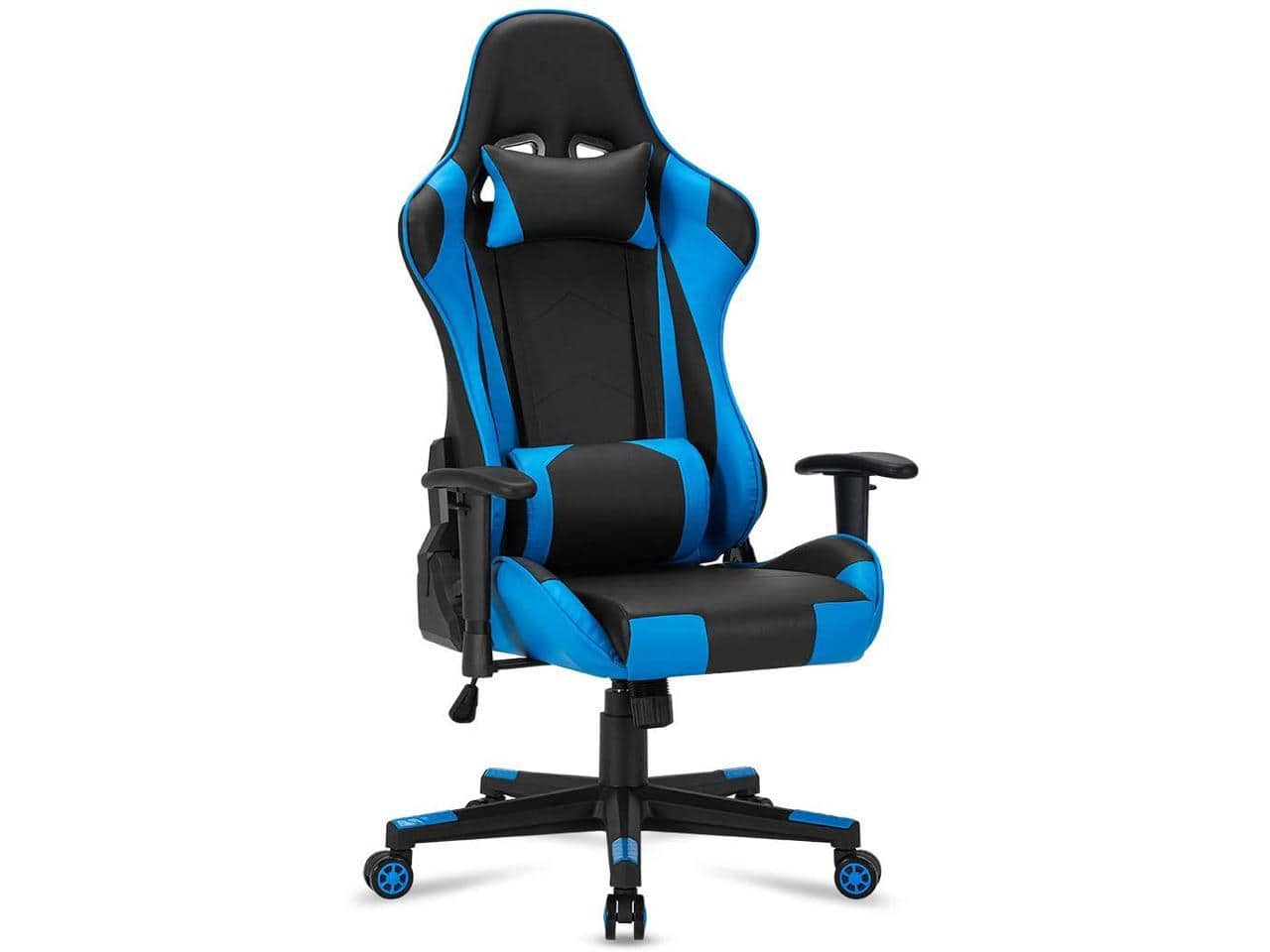 $69.99 At Newegg: Gaming Chair Computer Game Chair Office Chair Ergonomic High Back PC Desk Chair Height Adjustment Swivel Rocker