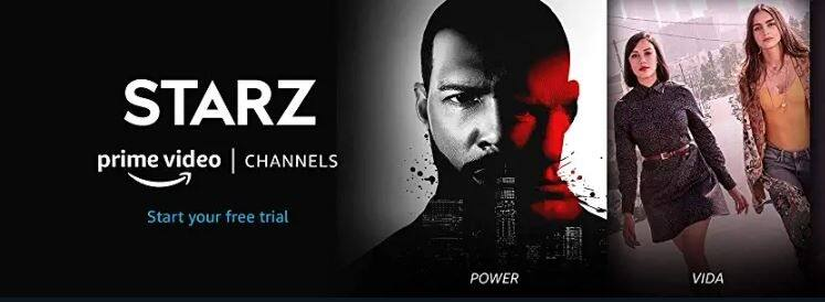 Prime Members: Starz $4.49/month for 6 months, $8.99/month after. Offer ends September 26.