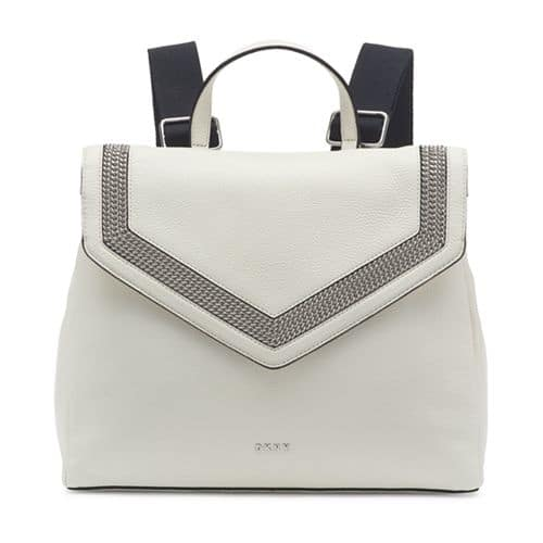 DKNY Ziggy Convertible Leather Backpack At Macy's For $68.96.