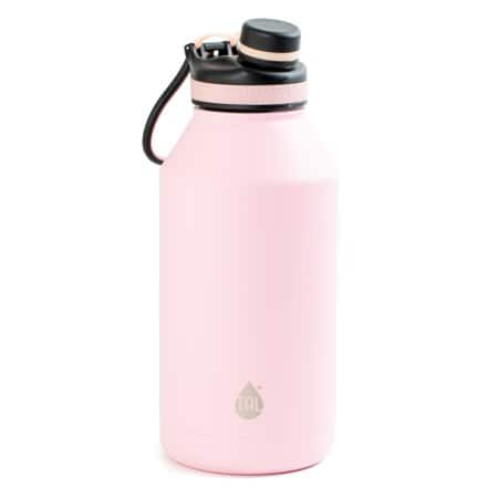 bc5e2d048d TAL 64oz Double Wall Vacuum Insulated Stainless Steel Ranger Pro Water  Bottle, Pink/Sage $14.98
