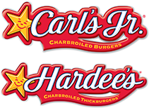 "Carl's Junior/Hardee's, The $4 Real Deal"" Double Cheeseburger, Spicy Chicken Sandwich, Small Fries, 16 oz Drink."