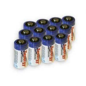 12 Pack CR123A Tenergy 3V 1400mAh Propel Lithium Primary Batteries With PTC Protection For $9 At Fry's After Promo Code. Limit 2. In Store Or Free Ship w/$49 Order Or More.