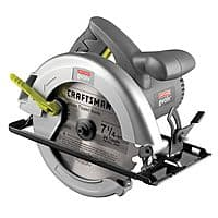 Kmart Deal: Kmart Craftsman 18780 Evolv 12 amp Corded 7 1/4-in Circular Saw $20.00 + FS with SYWM