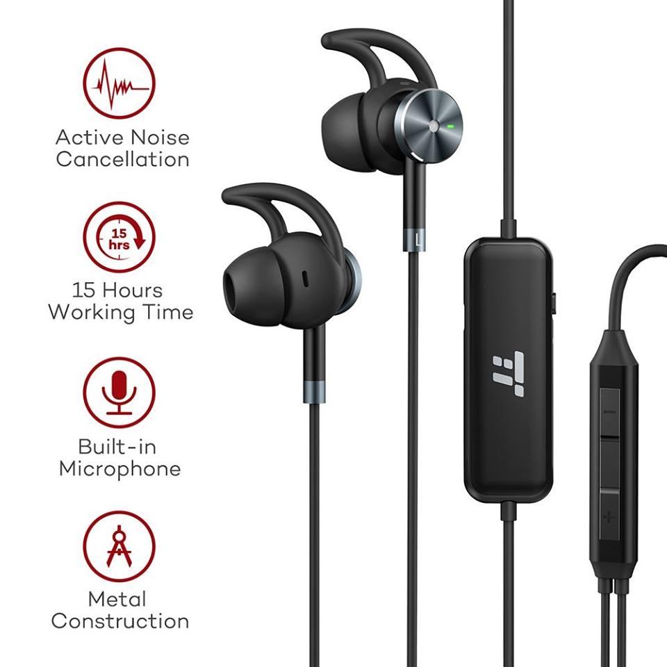 Amazon - TaoTronics Active Noise Cancelling Headphones $14.99 & Bluetooth Headphones $9.99
