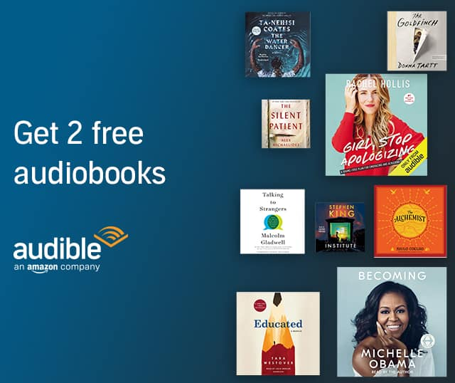 Audible Download 2 free audiobooks today (YMMV)