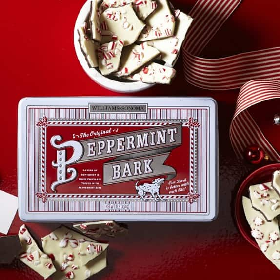 Williams Sonoma Original Peppermint Bark 1 pound box for$9.99