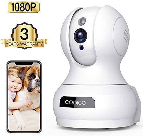 1080P HD WiFi Pet Camera Baby Monitor $21.99