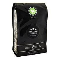Amazon Deal: Kicking Horse Organic Fair Trade Whole Bean Coffee 15% coupon + Subscribe & Save (It's a deal but its' NOT cheap!)