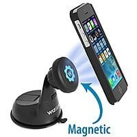 Amazon Deal: WizGear Universal Magnetic Windshield and Dashboard Car Mount Holder for Cell Phones and Mini Tablets $5.99 + FS w/ Prime or FSSS