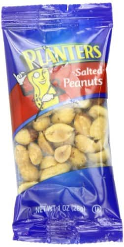 72 Count Planters Peanuts, Salted, 1-oz. Single Serve Packages $11.63 Shipped with Prime/FSSS ($0.16 each)