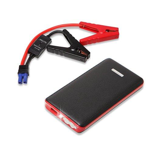 Back: urlhasbeenblocked Car Jump Starter (8000mAh & 400A Peak Current) and USB Power Bank  w/ Built-In LED Flashlight $31.99 + Free Shipping