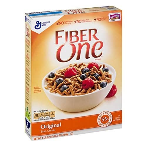 Fiber One Cereal, Original Bran, Whole Grain, 16.2 oz 6-Pack as low as $13.87 w/ S&S (lowest ever on Amazon)