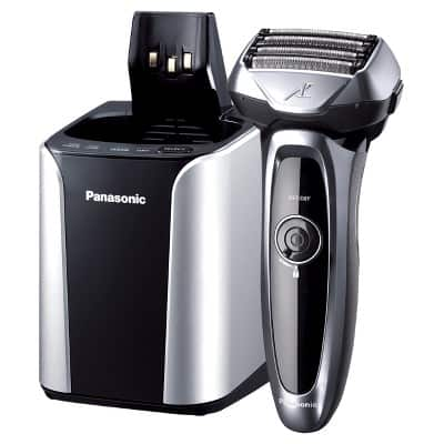 Panasonic ES-LV95-S ARC5 Premium 5-Blade Men's Electric Shaver, Wet/Dry, with Automatic Cleaning & Charging System $99.99