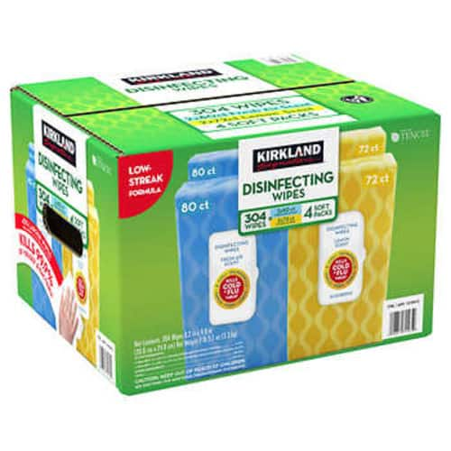 Kirkland Disinfecting Wipes back in stock at Costco.com regionally (NY and Some CA + others) $11.99