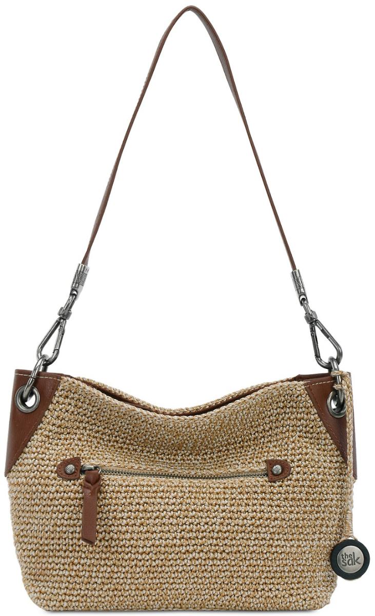 The Sak Indio Crochet Bag, Bamboo Static/Silver $19.96 + ship