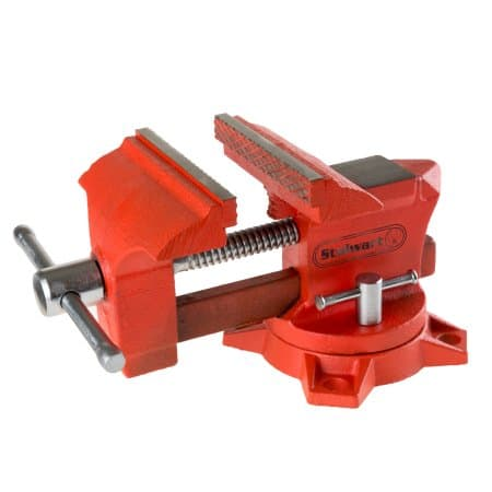 4.5 Inch Jaw 270 Degree Swivel Table Vise Locking Base Bolt Down By Stalwart - $23 $22.99