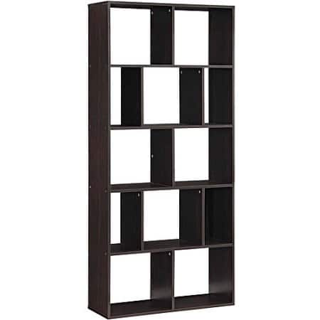 Mainstays Home 12-Shelf Bookcase, bundle of 2 for $79.2 after Chase Pay/Freedom card