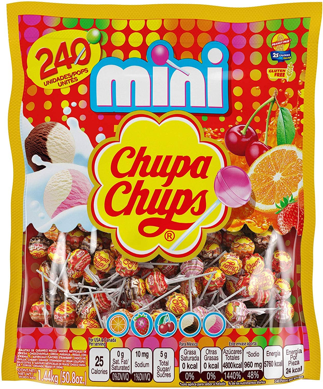 Chupa Chups Mini Lollipops 240ct $9.79 after coupon and S&S @ Amazon