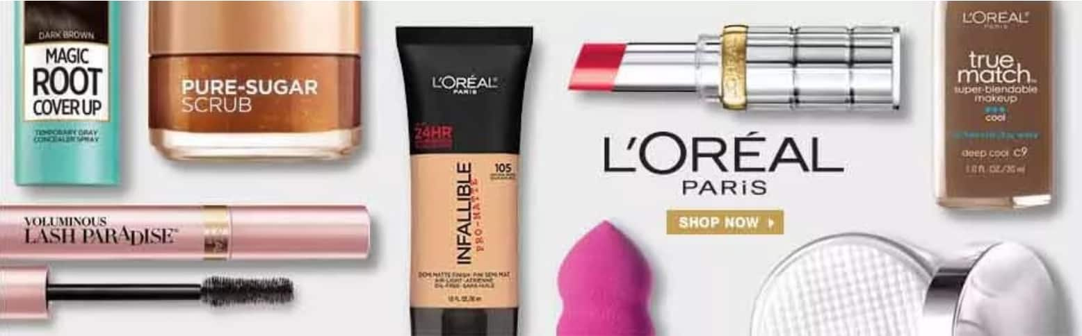 L'Oreal Paris Ebay Store: 10% Off Entire Store & Free Shipping (Must Buy 3 Items)
