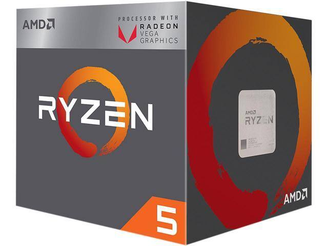 Newly released AMD Raven Ridge Ryzen 3 2200G / 5 2400G with embedded Vega GPU available on NewEgg.com (MSRP only though)