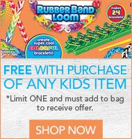 Today 7/23 only. 50% off Entire Stock of Kids Products at Joann.com