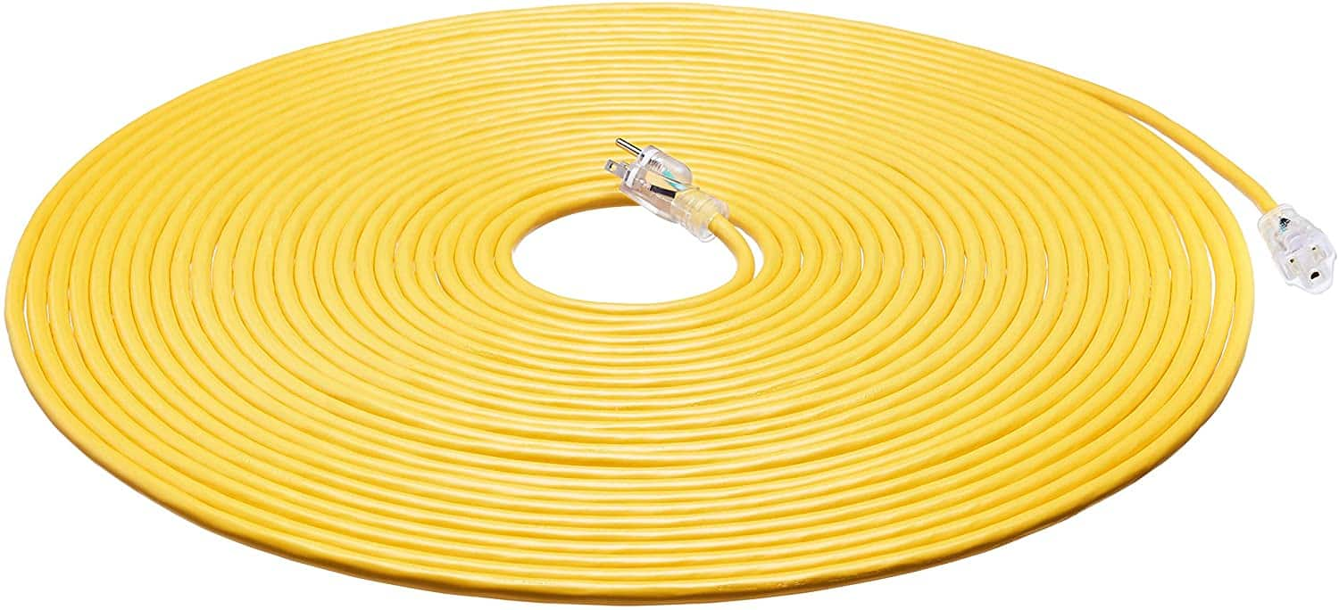 woot AmazonBasics 100' Heavy Duty Extension Cord - $32.99 - Free shipping for Prime members
