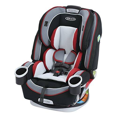 Graco 4ever All-in-One Convertible Car Seat, Cougar $159.99