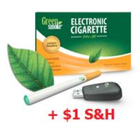 Green Smoke Rechargable E-Cig Kit FREE + $1 Shipping