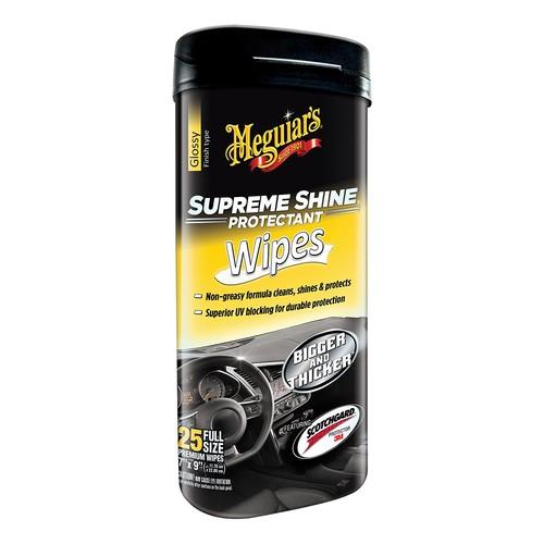 Meguiar's G4000 Supreme Shine Hi-Gloss Wipes (25 wipes): Automotive $3.60@Amazon