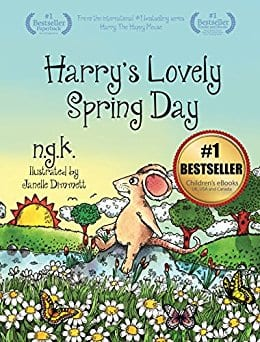 Free Kindle Children's Book: Harry's Lovely spring Day