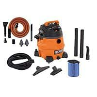 Home Depot Deal: Home Depot: RIDGID 14-Gallon 6.0 Peak High Performance Wet/Dry Vacuum w/ Free Auto Detail Kit $99 ($94 w/ coupon)