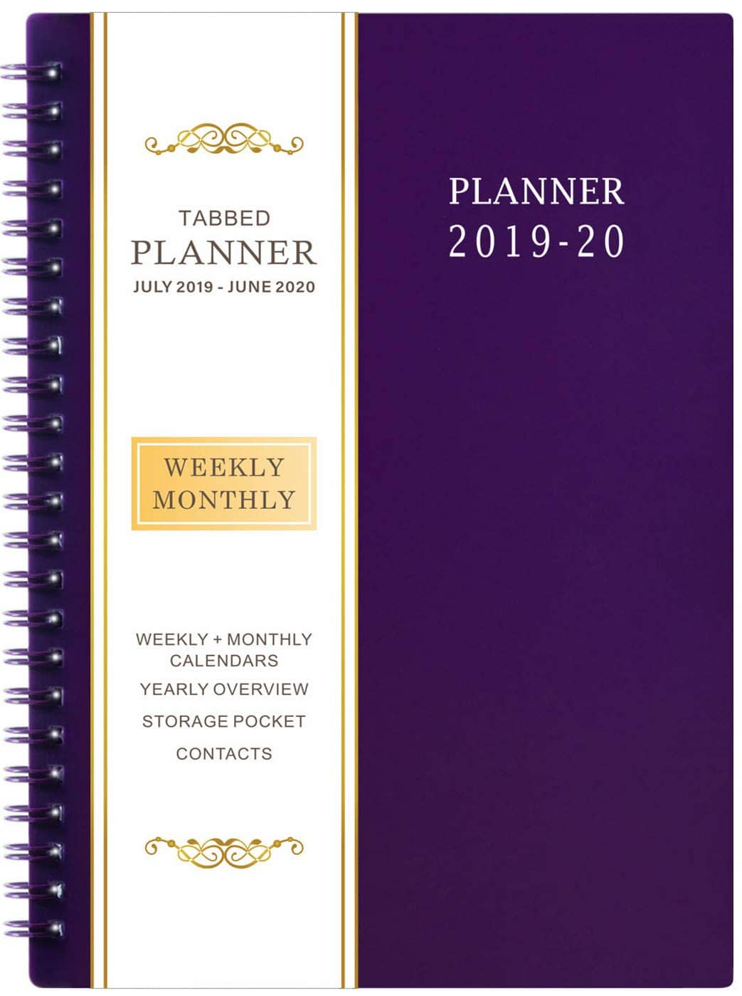 """6.25"""" x 8.3"""" Academic Planner for 2019-2020 $4.99"""