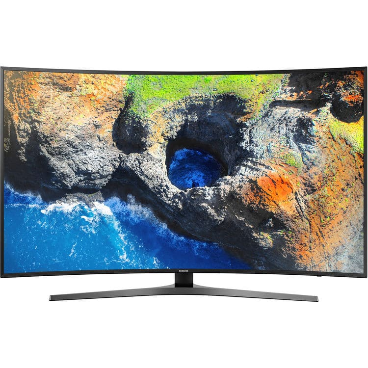 "Samsung 65"" Curved 4k UHD 2160p Smart LED 65MU7500 $499 YMMV"