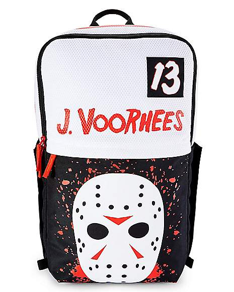 Spencers Friday The 13th Jason Vorheese Backpack $31.99+FS