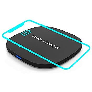 Qi Certified Fast Charge Wireless Charger Pad for iPhone Samsung $11.99