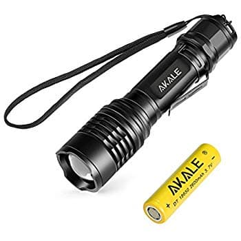 Rechargeable LED Flashlight 5 Light Modes 400LM & 900LM from $5.99 to $8.99 @ Amazon.com