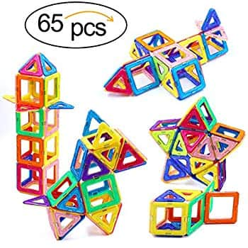 65pcs Magnetic Building Blocks Toy $17.84 @ Amazon + FS