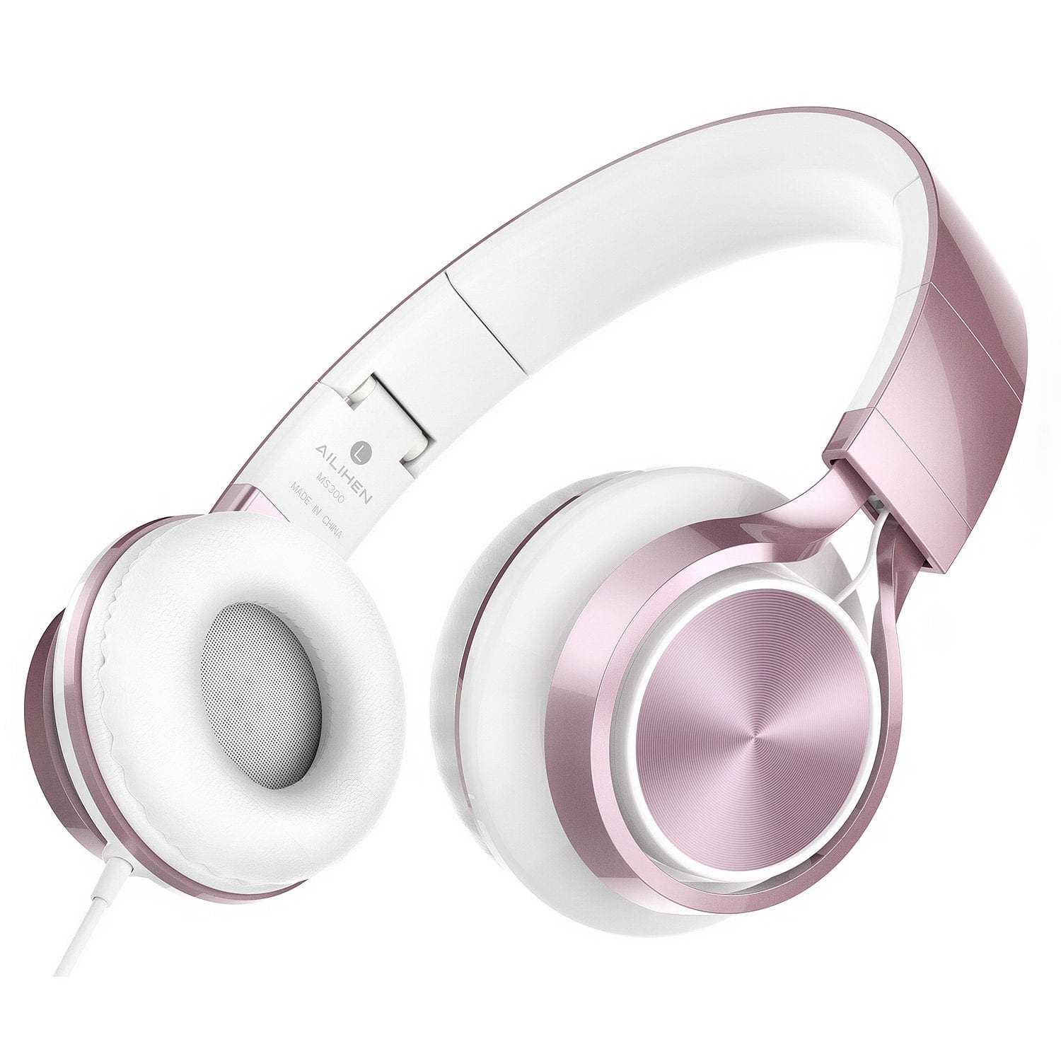 MS300 Stereo Folding Wired Headphones $9.99