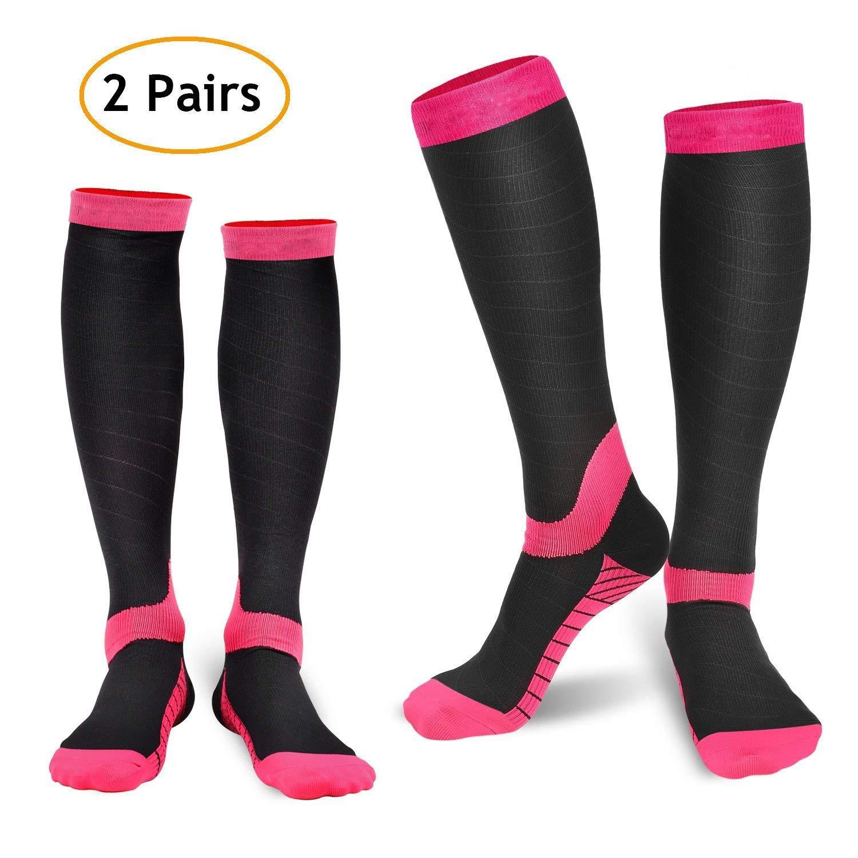 920cffe42c 2 Pair Compression Socks for Women $5.99 @ Amazon.com - Slickdeals.net