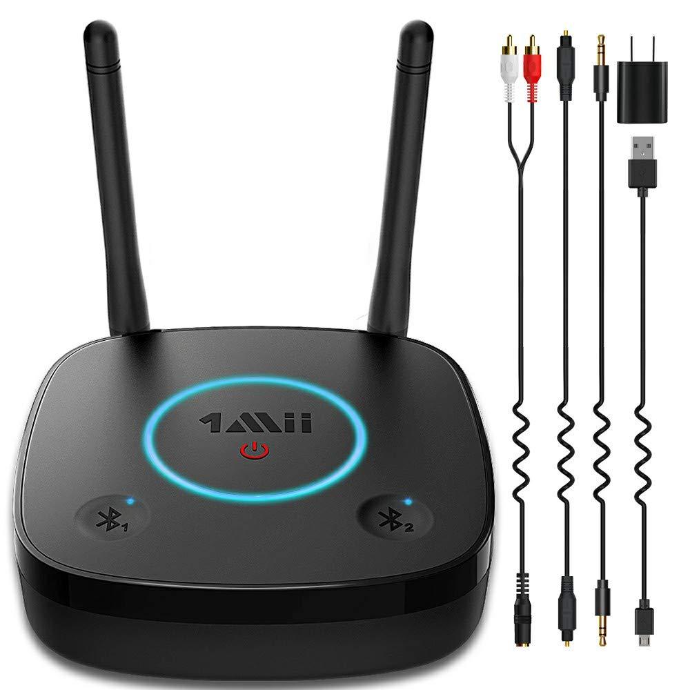 1Mii 2020 Expert TV Bluetooth Audio Transmitter for Headphones or Home Stereo- $19.76 @ Amazon.com