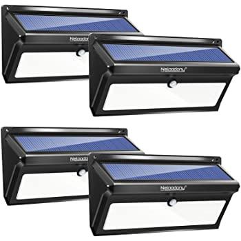 Neloodony Outdoor Waterproof Solar LED Lights with motion sensor (4-pack) $29.99 @ Amazon