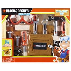 Black& Decker Jr Tool Belt Set ~$4 at Target