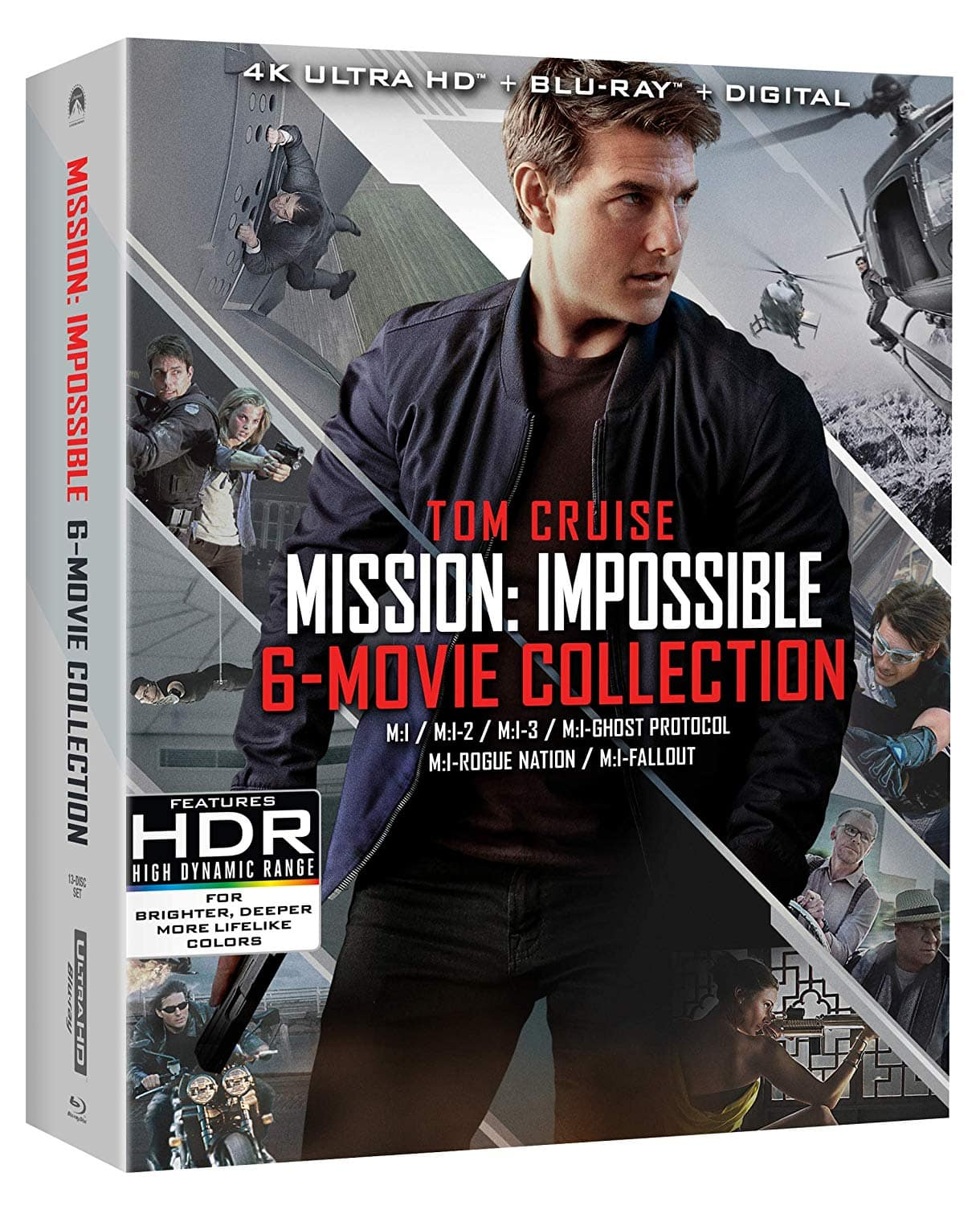 Mission: Impossible 6 Movie Collection 4K Blu-ray (Lowest Price Offered $37.99)