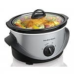 Hamilton Beach 4 qt. Stainless Steel Slow Cooker $9.99 (reg. $21.99) @ Sears