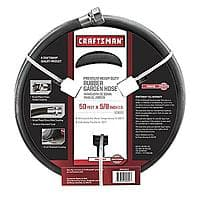 Sears Deal: Craftsman All Rubber Garden Hose 5/8 In. x 50 Ft. $12.95 (reg. $34.99) @ Sears.com