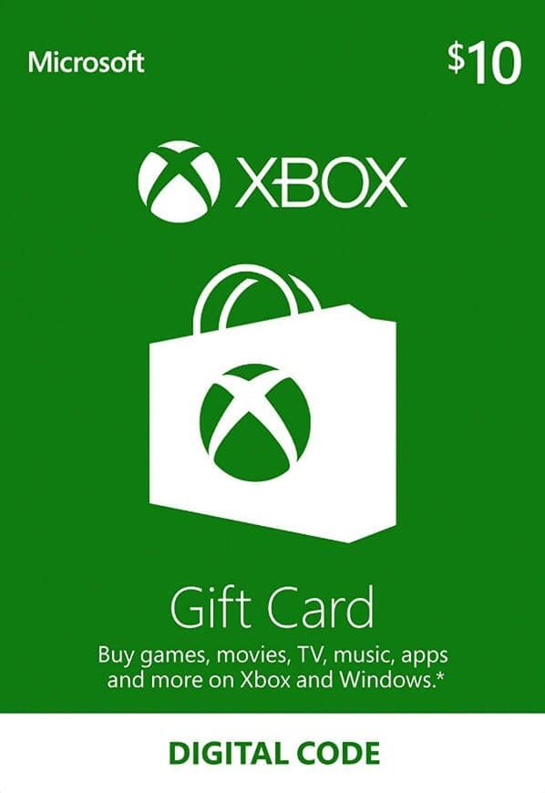 Xbox $10 for $8.90 + 5% off $8.46