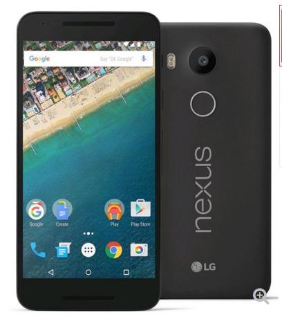 Google Nexus 5X (LG-H791) 32GB - $269.99 on dailysteals