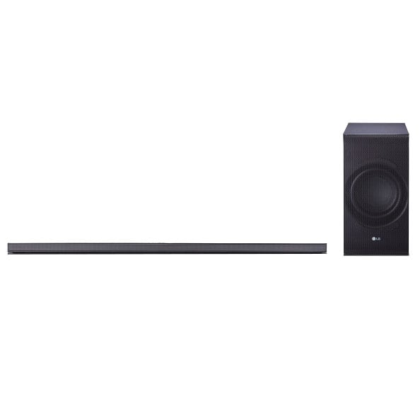 LG SJ8 300W 4.1-Channel High Resolution WiFi Bluetooth Audio Sound Bar Subwoofer @ Fry's for $199 In Store only
