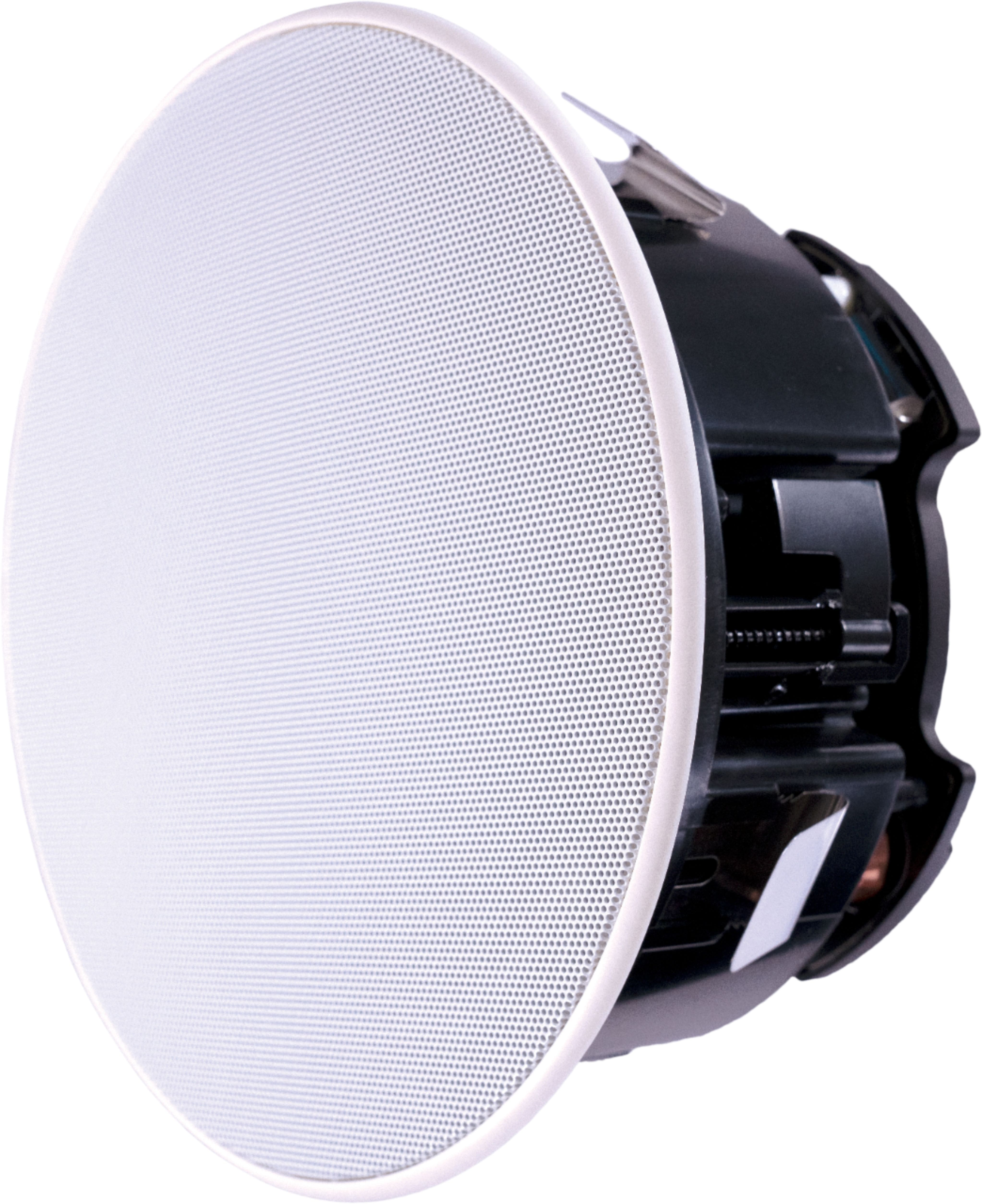 "Sonance - 6-1/2"" 2-Way In-Ceiling Speakers (Pair) - Paintable White at Best Buy for $129"