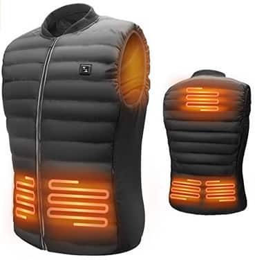 Men's USB Warm Electric Heated Vest $41.99